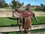 Fred Witton western saddle